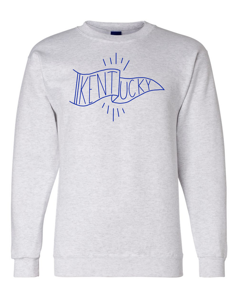 Kentucky Pennant Crewneck