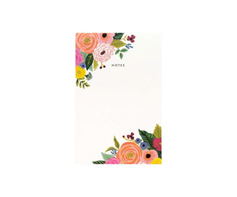 Rifle Paper Juliet Rose Blank Notepad