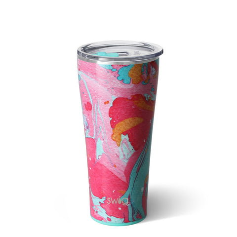 Cotton Candy Swig 32oz. Tumbler