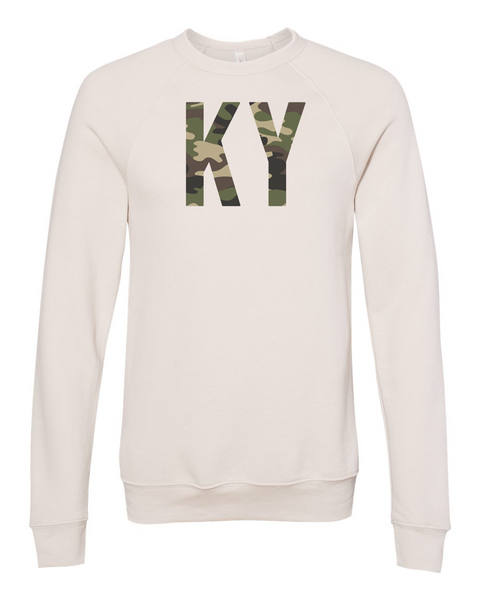 The Amy Camouflage Crewneck