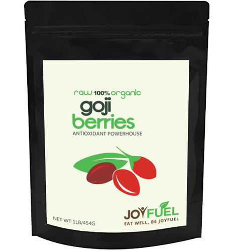 Joyfuel Premium Organic Goji Berries (2 Sizes: 16oz & 32oz)