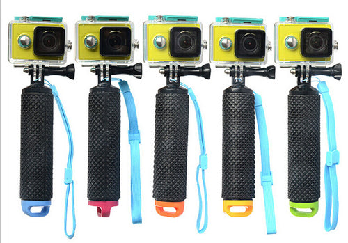 Floating Bobber Stick, Underwater, Anti-slip Gopro Compatible Hand Grip for Gopro Hero 4 3+ 3 2 SJCAM