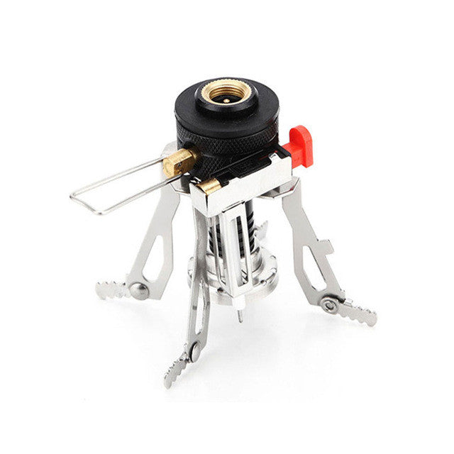 Camp Stove. Mini Portable Outdoor Gas stove for Camping, Hiking, Picnics.