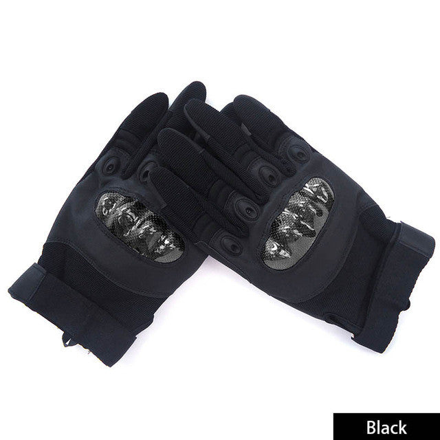 Rock Climbing Gloves Men Full Finger Tactical Gloves Mountaineering, Survival