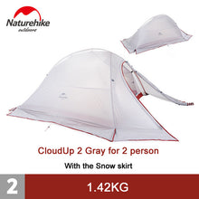 CAMPING TENT ULTRA-LITE 2 Person,  Double-layer Outdoor Tent