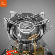 Camping Stove. Upgraded Super Power Portable One-Piece Stainless Steel Gas Stove