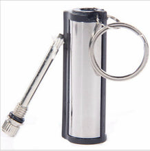 Emergency Fire Starter, Flint Match Lighter, Metal, for Outdoor, Camping, Hiking, Survival, Safe and Durable