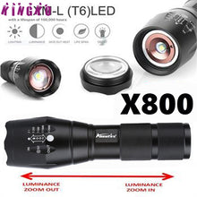Flashlight LED High Quality X800 Tactical Military High Intensity