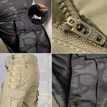 MOUNTAINEERING TROUSERS. Men, 4 Seasons; MULTI-POCKET, YKK Zippers