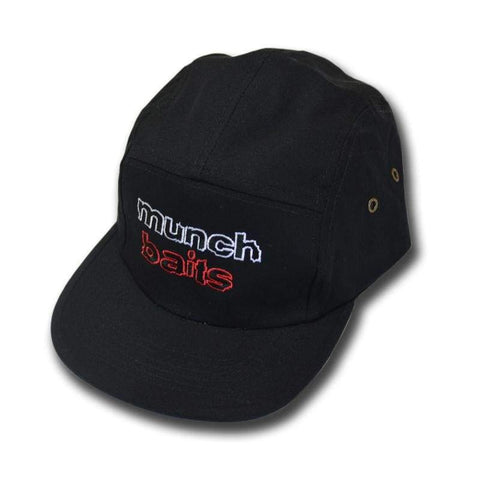 Munch Baits 5 Panel Cap Clothing & Footwear