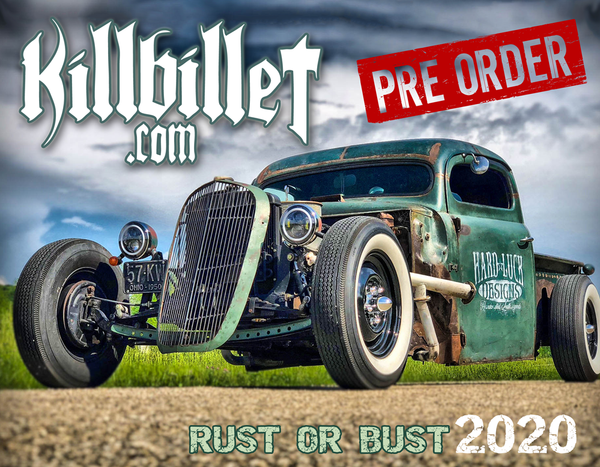 Killbillet 2020 Calendar For Pre Order Shipping 12/15 (LIMITED RUN)