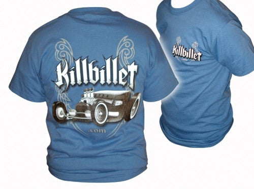 "KillBillet ""Indigo Rod"" T-Shirt"