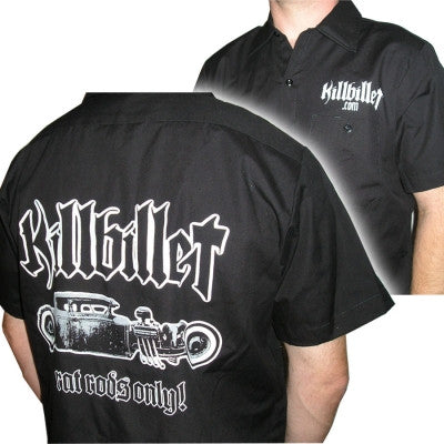 "KillBillet ""Classic Rat"" Dickie Work Shirt"