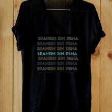 Women's Spanish Sin Pena V Neck T-Shirt