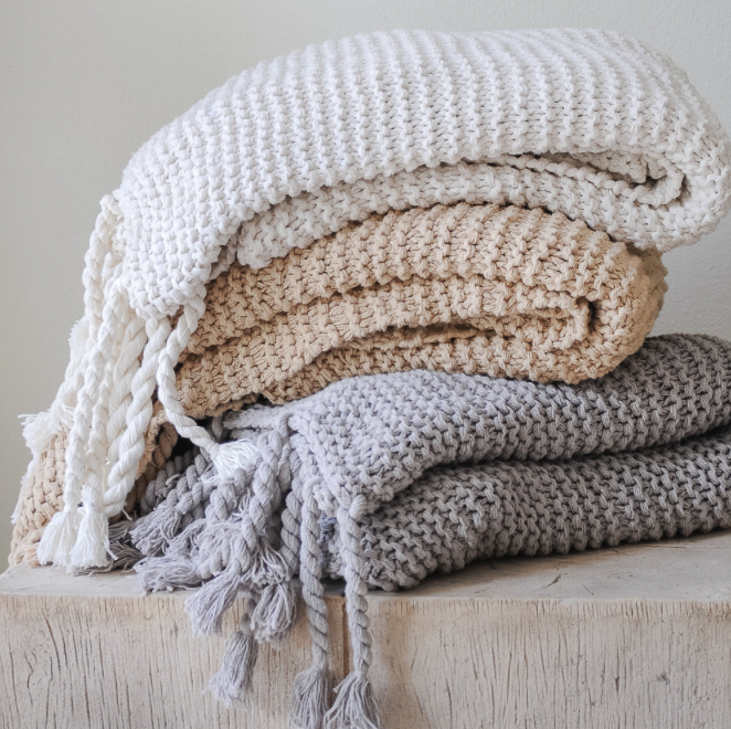 Cozying up in our Throws