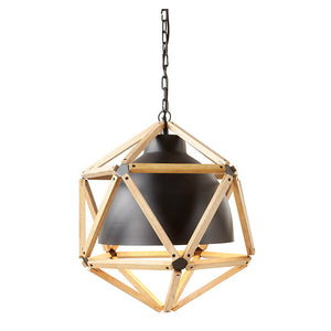 Geometric Dome Pendant