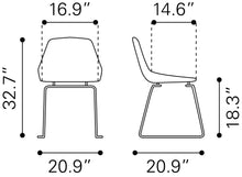 Load image into Gallery viewer, Garnet Dining Chair (S2) - White