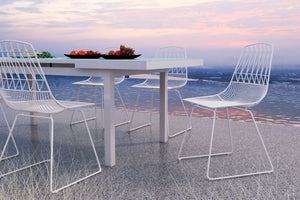 Garnet Dining Chair (S2) - White