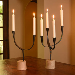 Double Arch Candle Holder