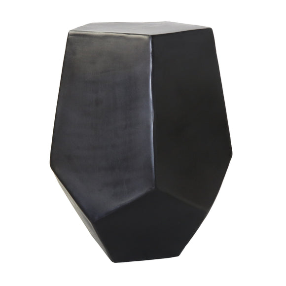 Hex Metal Side Table