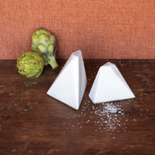 Load image into Gallery viewer, Pyramid Salt & Peppers Shakers