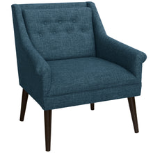 Load image into Gallery viewer, Winona Lounge Chair in Navy