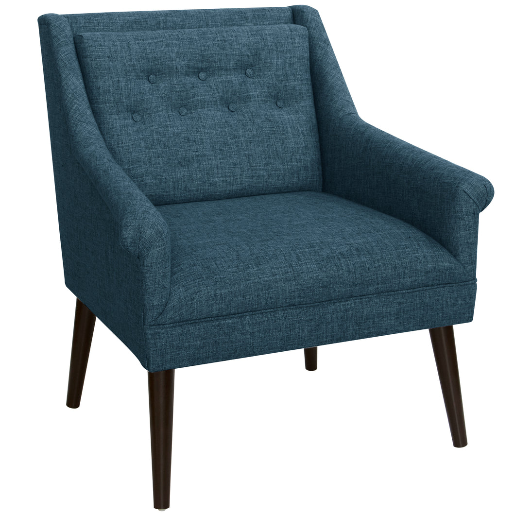 Winona Lounge Chair in Navy