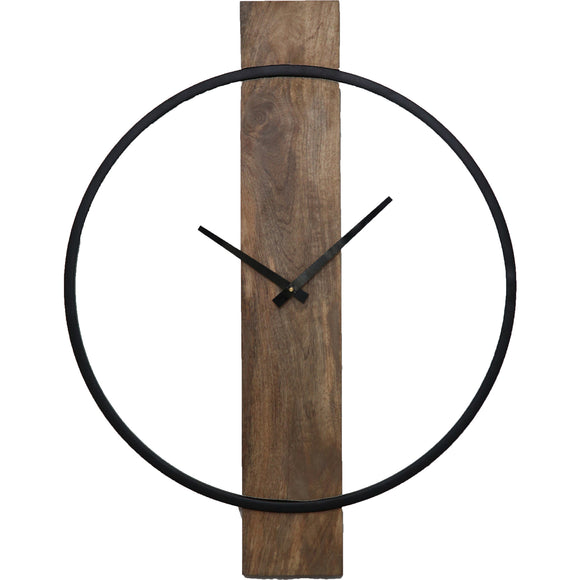 Woodsy Wall Clock