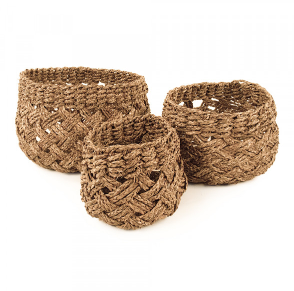 Seagrass Basket - (S/3)