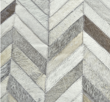Load image into Gallery viewer, Hide Herringbone Rug