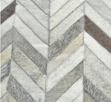 Hide Herringbone Rug