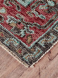 Piraj Rust/Aqua Rug