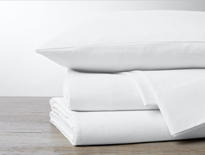 Coyuchi Cloud Brushed Organic Flannel Pillowcase Set/2