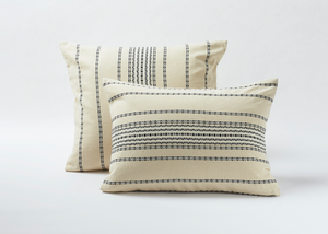 Coyuchi Rippled Stripe Organic Sham
