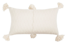 Load image into Gallery viewer, Antigua Pillow - Natural White
