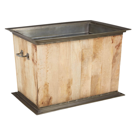 Botantical Bucket Rectangular Planter