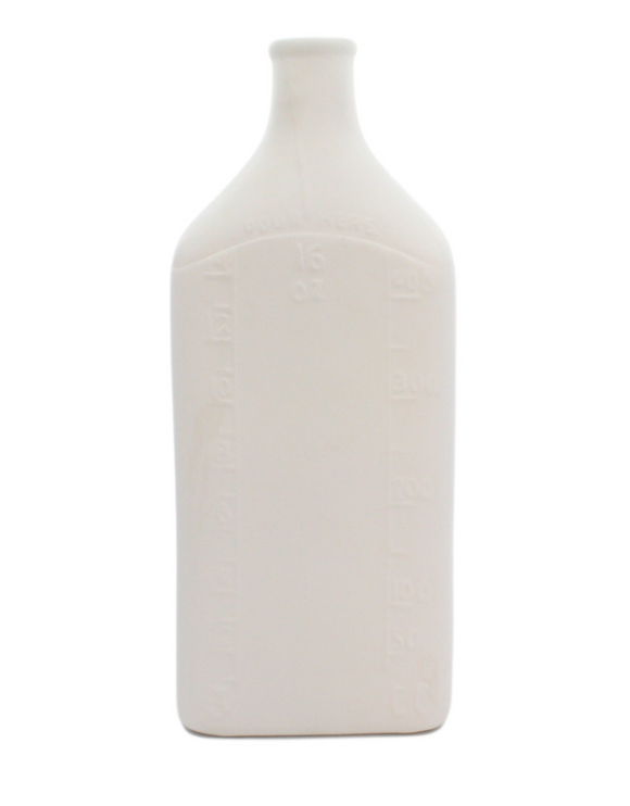 Opaque White Bottle