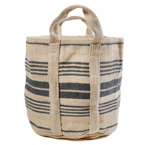Hand-loomed Basket - 4 colors