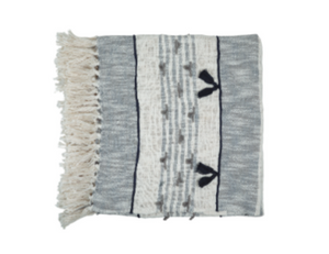 Alma Tassel Throw