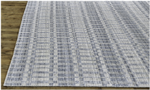 Load image into Gallery viewer, Otto Blue/Silver Rug
