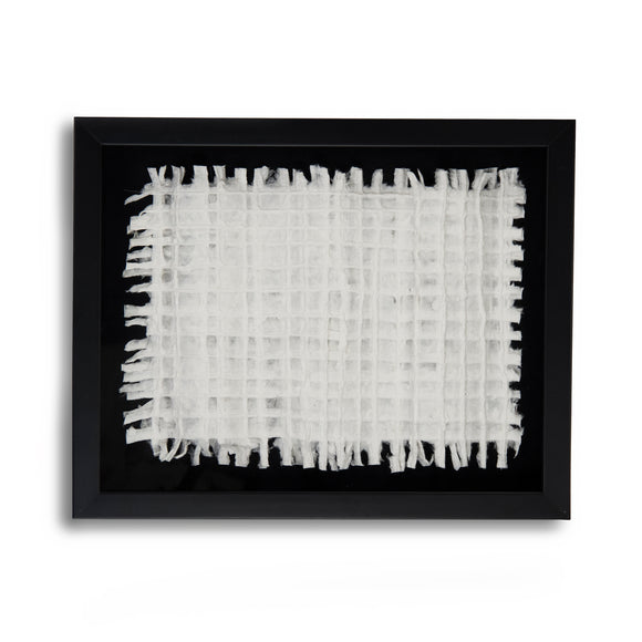 White Paper Framed Art