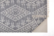 Load image into Gallery viewer, Poulson Rug - Navy/Ivory