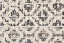 Load image into Gallery viewer, Bullion Rug - Gray/Ivory