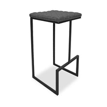 Load image into Gallery viewer, Barkly Barstool (S/2) - Charcoal