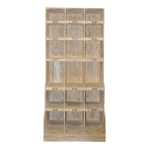 Reclaimed Lumber wine cabinet
