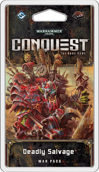 Warhammer 4400: Conquest Deadly Salvage War Pack - Trading Cards