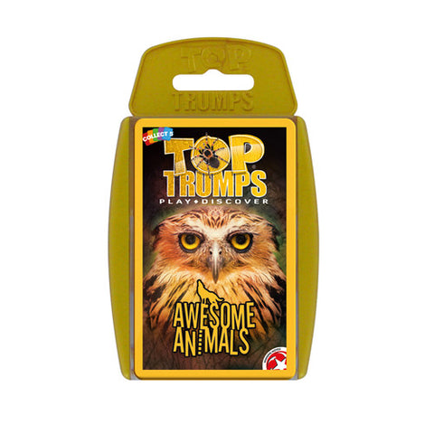 Top Trumps - Awesome Animals - Trading Cards