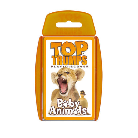 Top Trumps - Baby Animals - Trading Cards