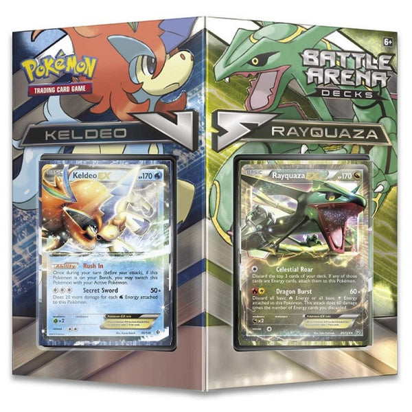 Pokemon - Battle Arena Deck - Rayquaza Vs Keldeo - Trading Cards