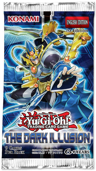 Yu-Gi-Oh! The Dark Illusion Booster Pack - Trading Cards